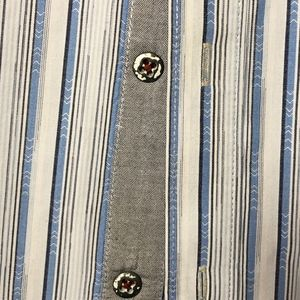 Tommy Bahama Shirts - Tommy Bahama- Island Crafted Stripe Button UP